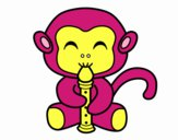 Flautist monkey