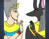 Ramses and Anubis