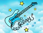 Guitar and stars