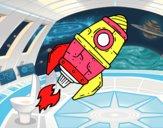 Supersonic rocket