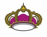 Coloring page Royal crown painted byredhairkid
