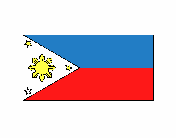filipino flag coloring pages - photo#22