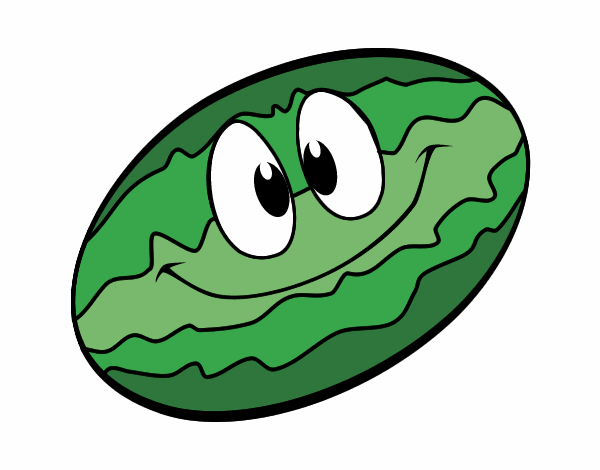 Smiling melon