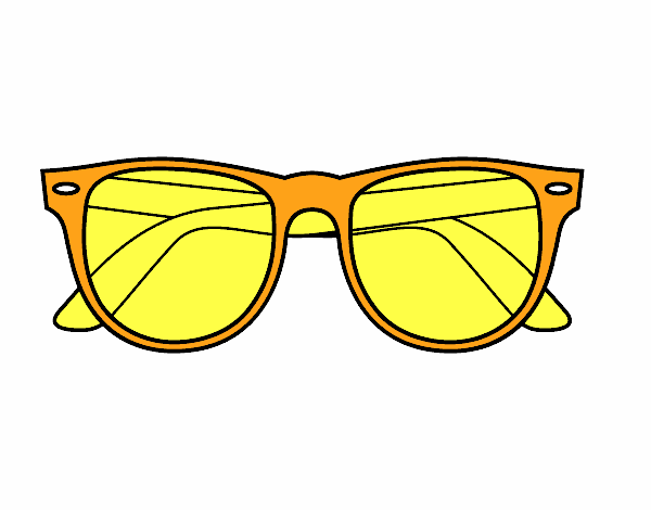 coloring pages sunglasses - photo#18