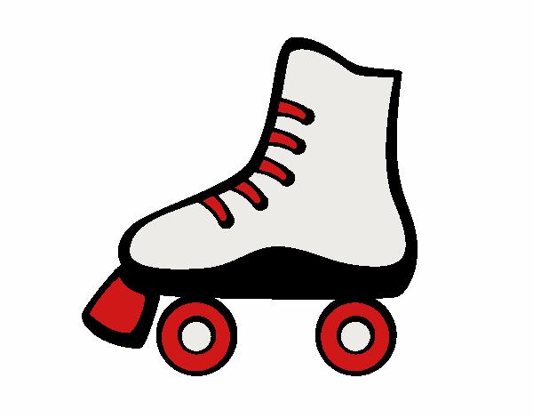Roller skating images+clip art