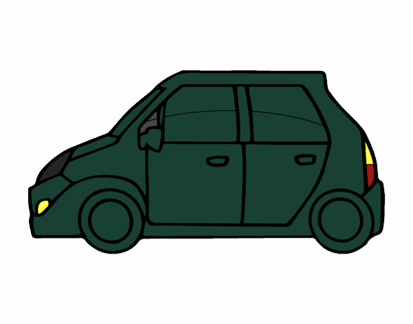 Small Car Colored By