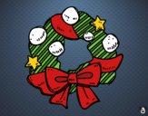 An advent wreath