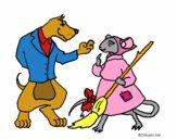 The vain little mouse 11