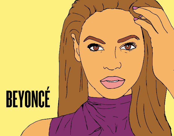 beyonce coloring pages - colored page beyonc i am sasha fierce painted by thecolor
