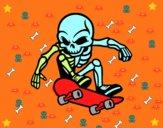Skater Skeleton
