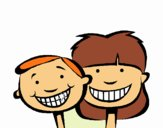 Children with healthy teeth