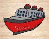 Ocean liner ship