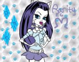 Coloring page Monster High Frankie Stein painted byEfsun