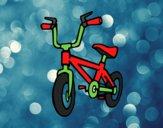 Coloring page Childish bike painted byBeautyWWE