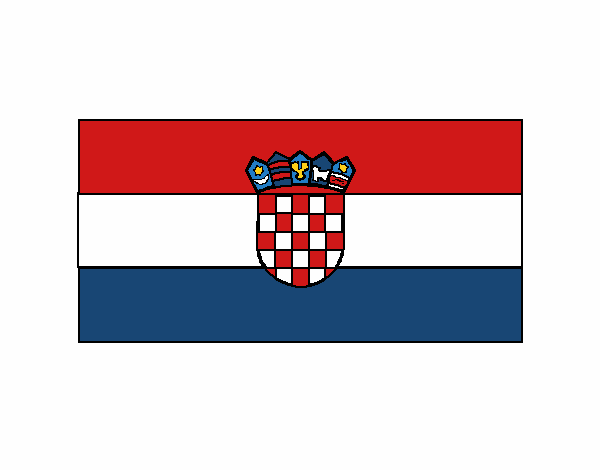 Coloring page Croatia painted byboracasli
