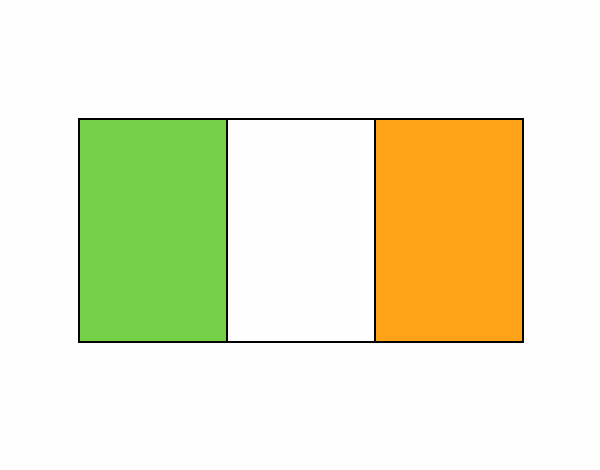 Coloring page Ireland painted byboracasli