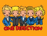 Coloring page One direction painted bymindella