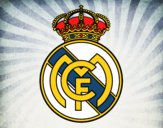 Coloring page Real Madrid C.F. crest painted byLexi882