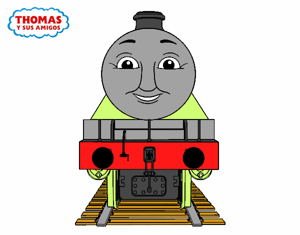 Colored Page Henry From Thomas And Friends Painted By User Not Registered