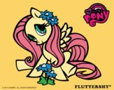 Coloring page Fluttershy painted byJijicream