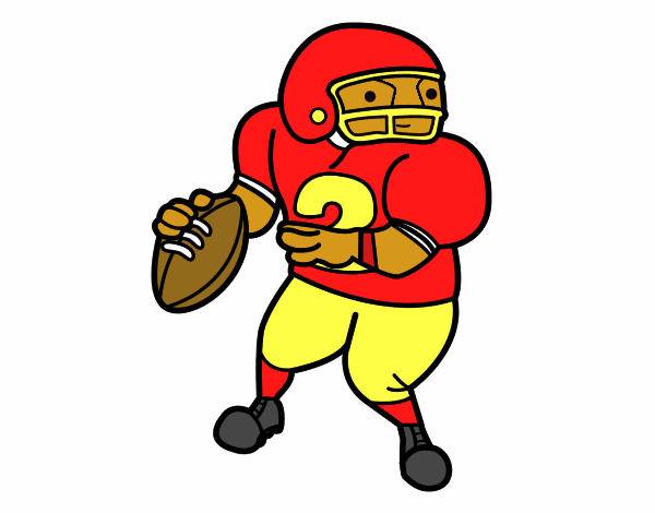 wide receiver football coloring pages - photo#17