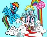 Rainbow Dash palace