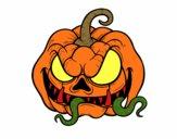 Terrifying pumpkin