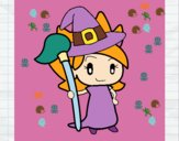 Coloring page Witch Turpentine painted byunicorn23