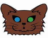 Coloring page Cat painted byMikayla99