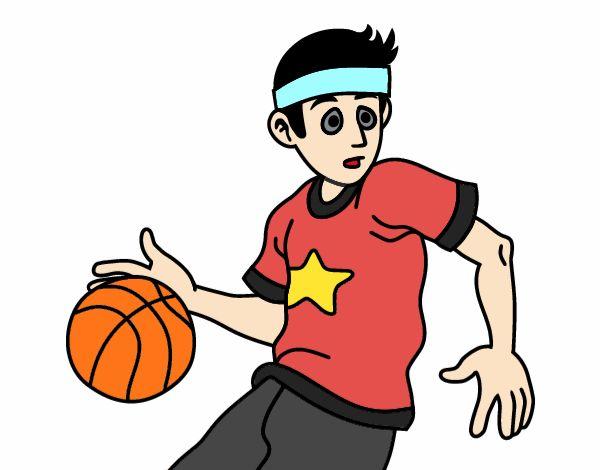 Junior basketball player