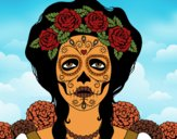 Female mexican skull