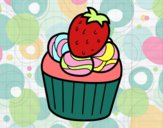 Coloring page Strawberry chocolate painted bylilnae33