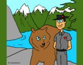 Coloring page Canada painted byCherokeeGl