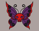 Coloring page Emo butterfly painted byMaddi