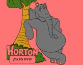 Coloring page Horton painted byCherokeeGl