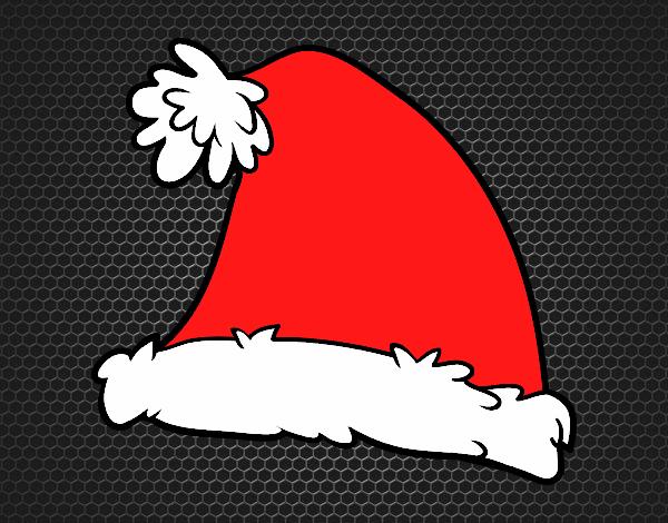 A Santa Claus Christmas hat