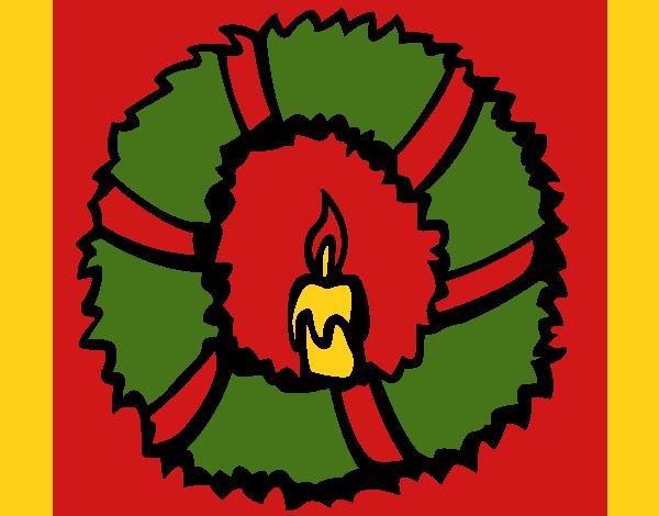 Christmas wreath II