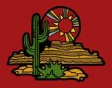 Coloring page Colorado Desert painted byCherokeeGl