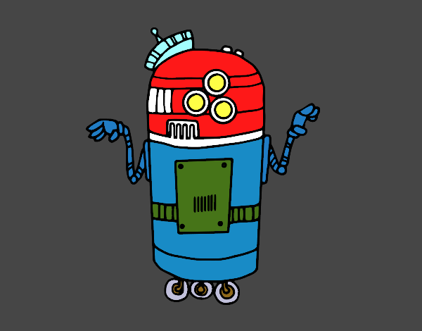 Robot in service