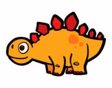 Young Stegosaurus