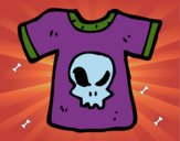 Coloring page T-shirt Emo painted bykayleigh