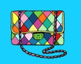Coloring page Clutch Chanel painted byryals4paws
