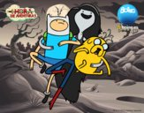 Flying with Marceline