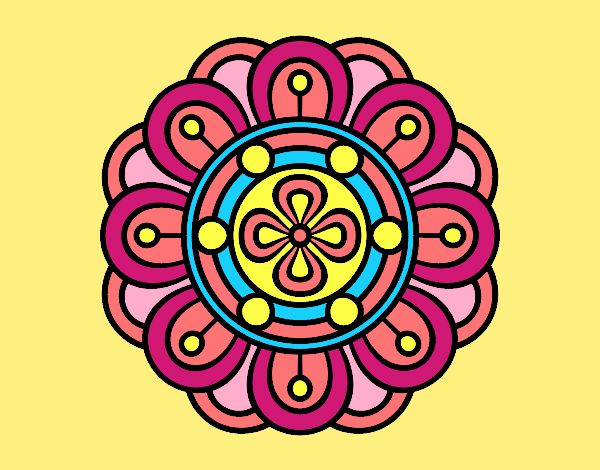 Mandala creative flower
