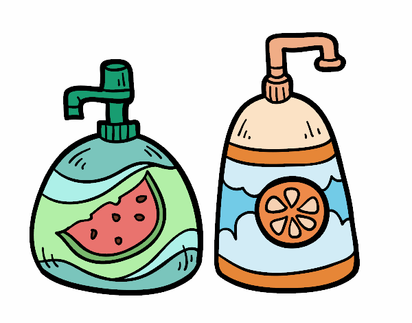Coloring page Hand soaps painted byAnnanymas