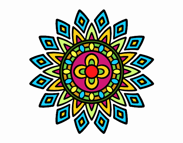Mandala flashes