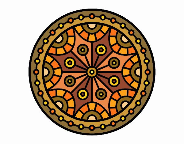 Mandala mental balance