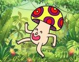 A Happy Mushroom