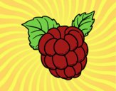 Coloring page Raspberry painted bysamg