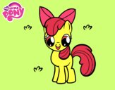Coloring page Apple Bloom painted byRoseLuna